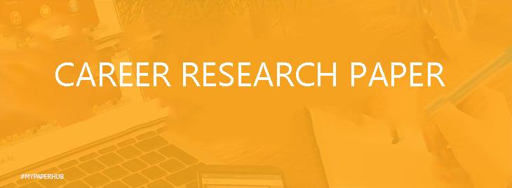 final major/career research paper
