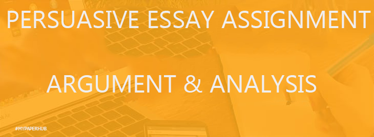 persuasive writing assignments