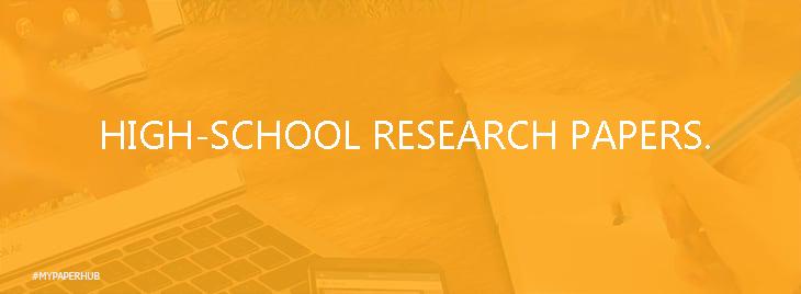 research paper in high school