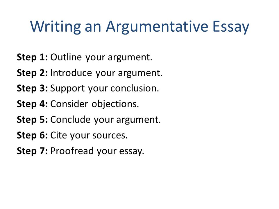 How to make a persuasive essay